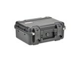 SKB • Valise étanche noire 381 x 264 x 152 (108+44) mm avec mousse-flight-cases