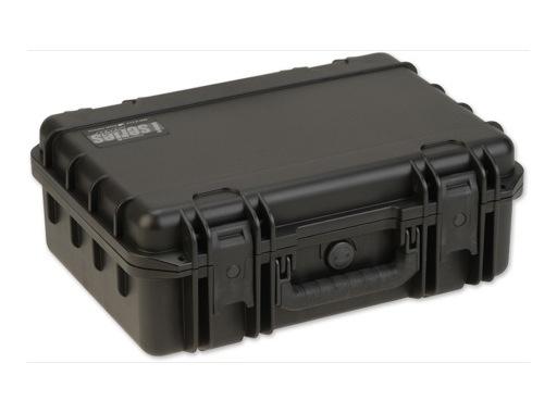SKB • Valise étanche noire 432 x 292 x 152 (108+44) mm avec mousse