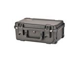 SKB • Valise étanche noire 517 x 290 x 191 (140+51) mm avec mousse + trolley-flight-cases