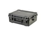 SKB • Valise étanche noire 559 x 432 x 203 (152+51) mm avec mousse-flight-cases
