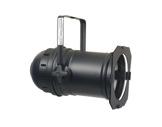 Projecteur PAR 64 long noir ouvert - douille parsafe