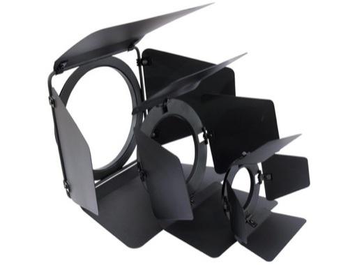 Volet 4 faces noir pour projecteur PAR20 L585CE/CH