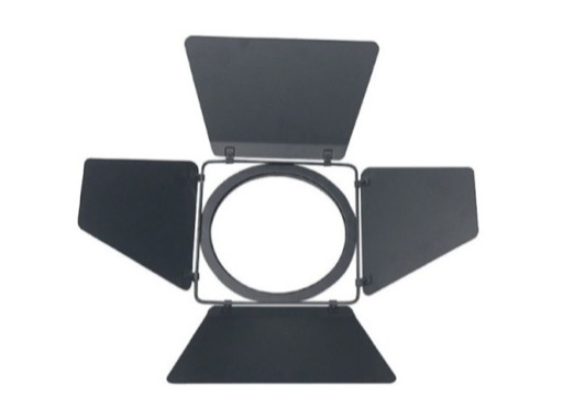 Volet 4 faces noir pour projecteur PAR64 L598CE/CH