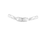 SLI • Coupleur flexible blanc pour rail Lytespan 3 L3-eclairage-archi--museo-