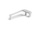 ESL • Embout gauche de nez de marche pour gamme LED693-accessoires-de-profiles-led-strip