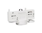 PROLIGHTS • Adaptateur rail 3 allumages blanc (A SOUDER) pour MINIECLIPSE / DISP-alimentations-et-accessoires