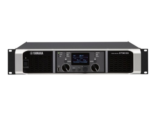 YAMAHA • Amplificateur avec processing, 2 x 1050W / 4 Ohm