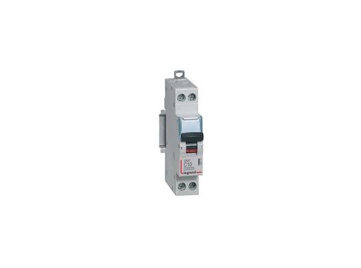 LEGRAND • Disjoncteur,P+N,C6A 4500A DNX