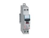 LEGRAND • Disjoncteur,P+N,C6A 4500A DNX-protection