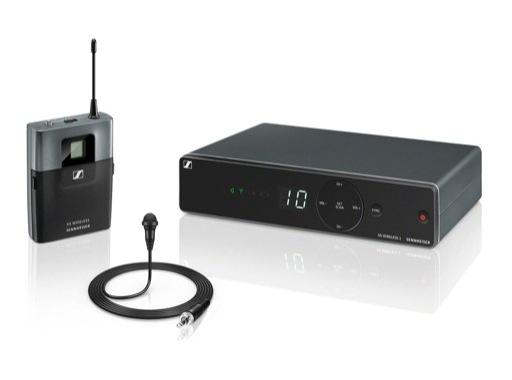 SENNHEISER • Ensemble complet XSW1 micro cravate ME2 omindirect A:548-572 MHz