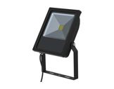 Projecteur noir Flood Light Slim Led 30W blanc chaud 2710lm IP65-eclairage-archi-museo
