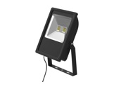 Projecteur noir Flood Light Slim Led 100W blanc chaud 9500lm IP65-eclairage-archi-museo