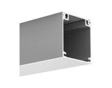 ESL• Profilé NIBO alu anodisé 3 m pour accroche luminaires -accessoires-de-profiles-led-strip