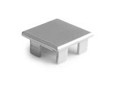 ESL • Embout plein teinte métal pour profilé gamme LIPOD-accessoires-de-profiles-led-strip