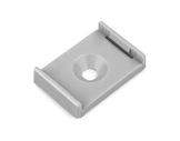 ESL • Clip de fixation PVC pour profilé gamme double & lipod-accessoires-de-profiles-led-strip
