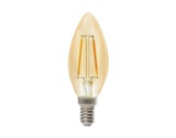 SLI • LED RETRO flamme claire 2,3W 230V E14 2400K 200lm 15000H-lampes-led