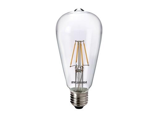 SLI • LED RETRO ST64 claire 4W 230V E27 2700K 470lm 15000H