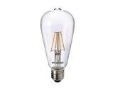 Lampe LED RETRO ST64 claire 4W 230V E27 2700K 470lm 15000H • SYLVANIA-lampes-led