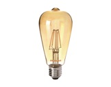 SLI • LED RETRO ST64 ambrée 4W 230V E27 2400K 400lm 15000H-lampes-led