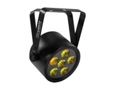 PROLIGHTS • Projecteur sur batterie BATPAR6UTRI 6 LEDs Full RGB 3 W-eclairage-spectacle