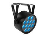 PROLIGHTS • Projecteur sur batterie BATPAR12UTRI 12 LEDs Full RGB 3 W-eclairage-spectacle