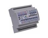 ARTISTIC LICENCE • RAIL-SWITCH II, switch DMX RDM 6 relais sur rail DIN-controle