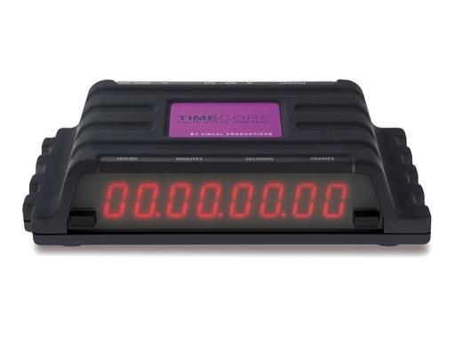 VISUAL PRODUCTIONS • TimeCore, générateur, récepteur, convertisseur Timecode