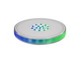Kit de 8 projecteurs LED RGBW sur batterie SMARTDISK IP54 • PROLIGHTS-projecteurs-autonomes-sur-batterie