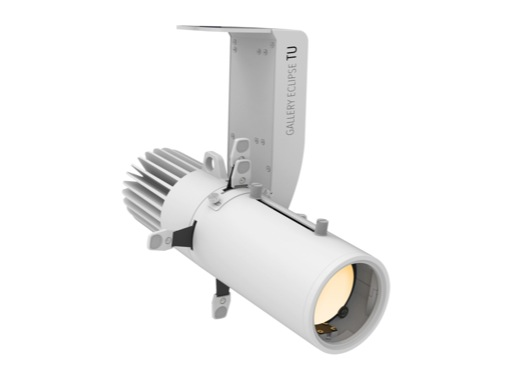 PROLIGHTS • Découpe GALLERY ECLIPSE 35 W zoom 19-36 3 000 K finition blanche