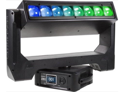 PROLIGHTS • Lyre à effets STARKBLADE8 8 LEDs RGBW 40 W