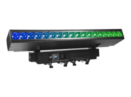 PROLIGHTS • Barre motorisée à effets STARKBAR1000 18 LEDs RGBW 40 W