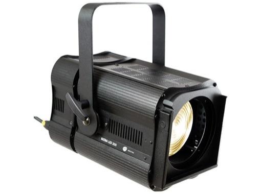 Projecteur Fresnel LED DTS SCENA LED 200 blanc chaud