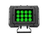 Projecteur MINI BRICK Full RGBW 12 x 20 W IP65 8° + filtres holographiques • DTS-projecteurs-en-saillie