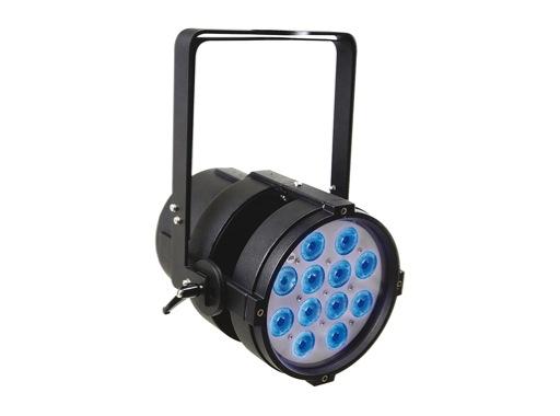 Projecteur PAR LED TITAN HP SOLO Full RGBW IP65 DTS