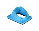 MARECHAL • DS9 manchon incliné 30° poly bleu-cablage