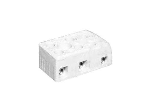 Domino porcelaine • 3 pôles