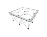LITESTAGE • Plateau Plexiglas de 100 x 100 x 9cm usage intérieur / extérieur-structure-machinerie