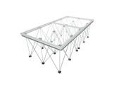 LITESTAGE • Plateau Plexiglas de 200 x 100 x 9cm usage intérieur / extérieur-structure-machinerie