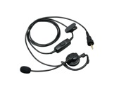 KENWOOD • Tour d'oreille avec micro sur tige et PTT pour TK 3601DE et WD-K10-intercoms-hf