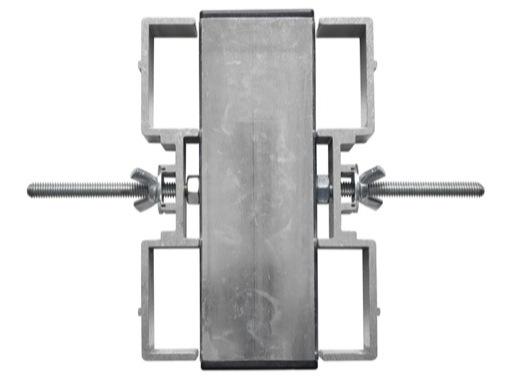 PROTRUSS • Double agrafe pour pied aluminium série Roadstage