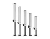PROTRUSS • Pied aluminium télescopique hauteur 60 à 100cm série Roadstage-praticables