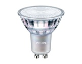 Lampe LED GU10 4,9W 230V 3000K 36° 355lm 25000H gradable IRC90 • PHILIPS-lampes-led
