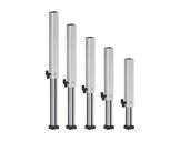 PROTRUSS • Pied aluminium télescopique hauteur 120 à 220cm série Roadstage-praticables