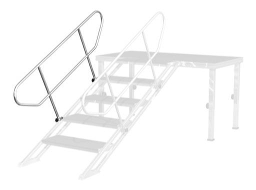PROTRUSS • Main courante 125 x 165cm pour escalier série Roadstage