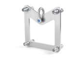 Adaptateur Hanging Plate pour structure série M290 Quatro CMU 1 T - QUICKTRUSS-structure-machinerie