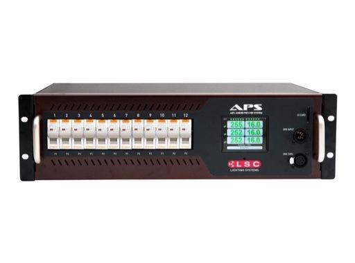 LSC • Alimentation APS programmable 12 x 16A sorties sur Harting HAN16 x 2
