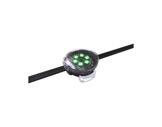 ENTTEC • Pixel Dots plat clair rond 40mm 50 LEDs RGB pitch 125mm 24V IP67 noir-eclairage-archi--museo-
