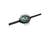 ENTTEC • Pixel Dots plat clair rond 35mm 50 LEDs RGB pitch 125mm 24V IP67 noir-led-strip