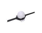 ENTTEC • Pixel Dots dôme opalisé rond 44mm 50 LEDs RGB pitch 125mm 24V IP67 noir-eclairage-archi--museo-