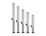 PROTRUSS • Pied aluminium télescopique hauteur 40 à 60cm série Roadstage-structure--machinerie